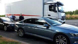 Bijna 100 bestuurders beboet voor gevaarlijk weggedrag