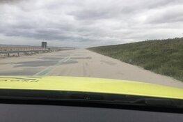 Dijk tussen Enkhuizen en Lelystad dicht vanwege zand