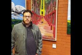 Michiel Knol exposeert in FlevoMeer Bibliotheek Lelystad