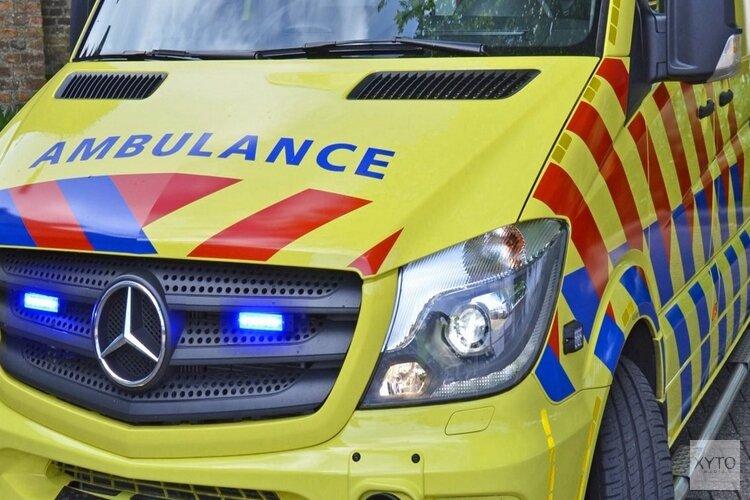 Twee gewonden bij ongeval Westerdreef