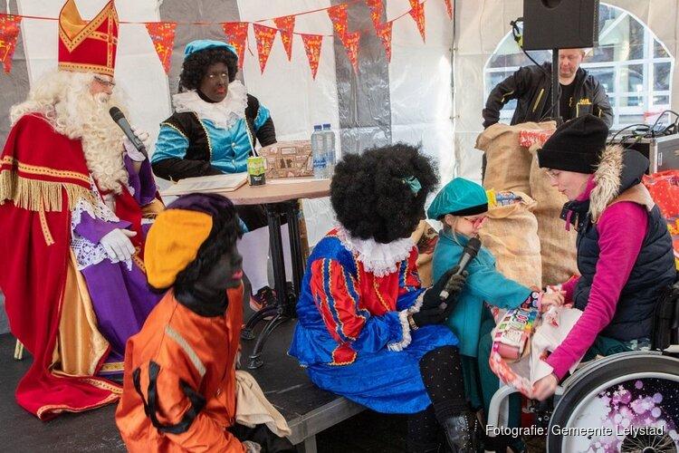 Geslaagd Sinterklaasfeest voor kinderen in de Tjalk