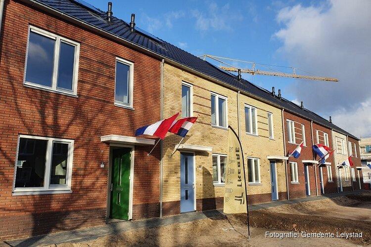 Eerste nieuwe sociale huurwoningen Kop De Veste opgeleverd