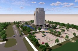 Start nieuwe bouwfase Van der Valk Hotel Lelystad