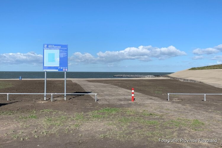 Watersportstrand Bataviastrand klaar voor gastvrij ontvangst