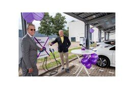 Vehicle to grid laadplein geopend