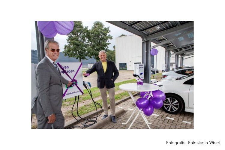Vehicle to grid laadplein geopend