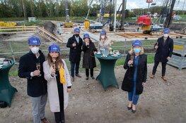 Heiwerkzaamheden betekenen volgende stap in bouw Hotel van der Valk bij Lelystad